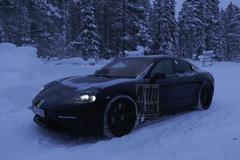 Porsche Mission E - Spionage
