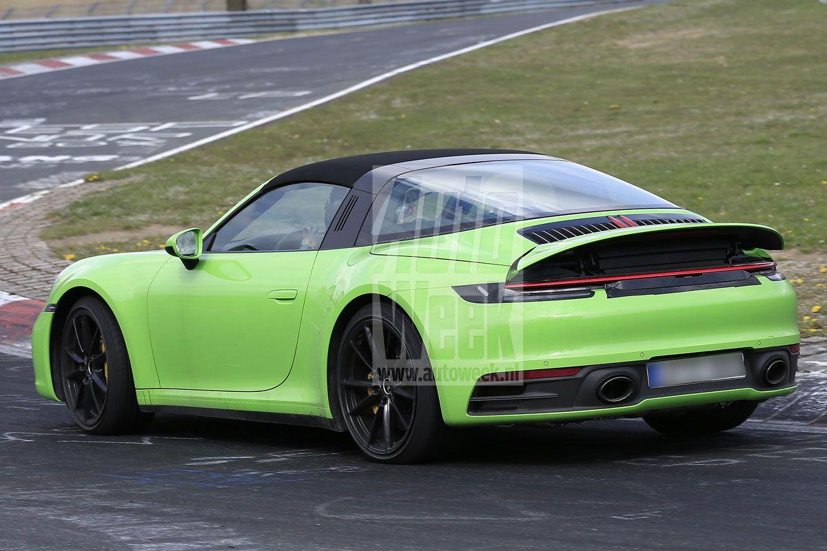 Porsche 911 Targa Spyshots