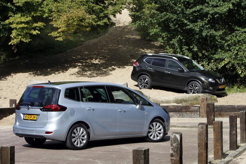 Nissan X-Trail - Opel Zafira