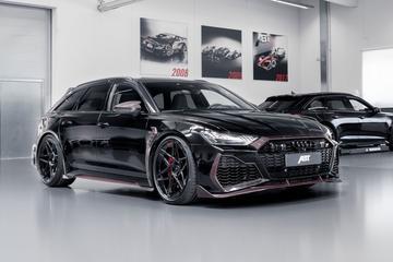 Audi RS6 van Abt als eerbetoon aan oprichter