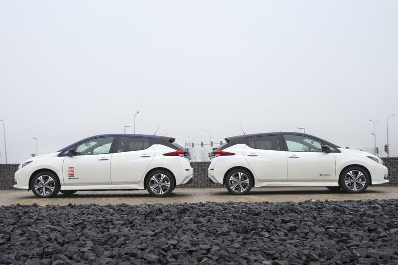 Nissan Leaf 40 - Nissan Leaf E+ - Dubbeltest
