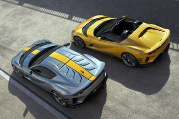 Ferrari onthult machtige 812 Competizione en 812 Competizione A