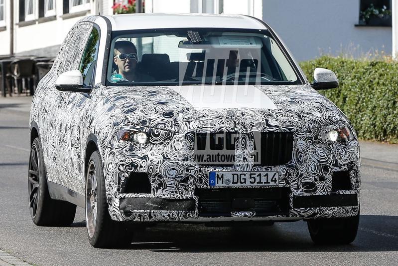 Nieuwe BMW X5 op pad als M