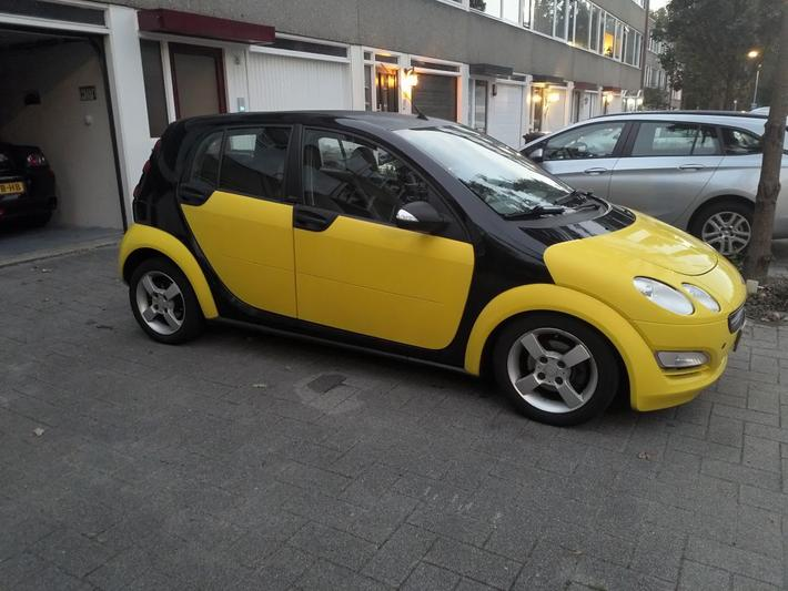 Smart forfour 1.1 blackbasic (2005)
