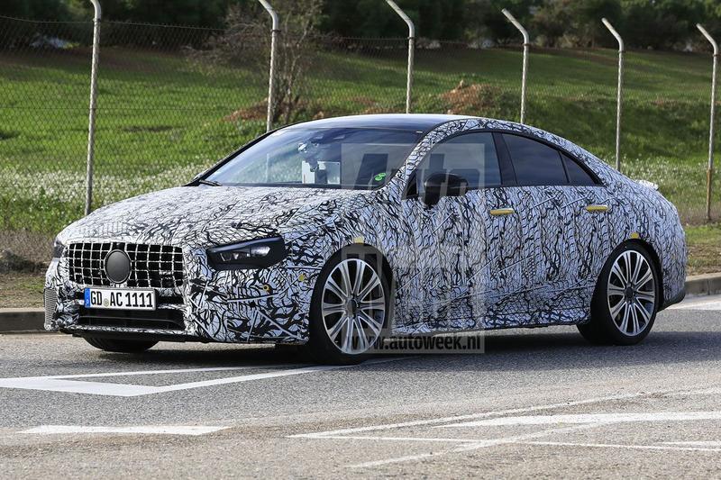 Spyshots Mercedes-AMG CLA 35 en 45