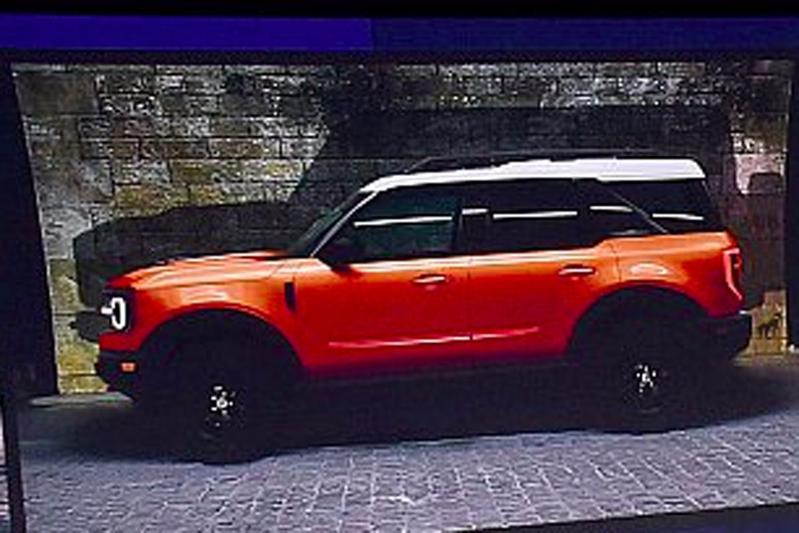 Ford Bronco en baby-Bronco