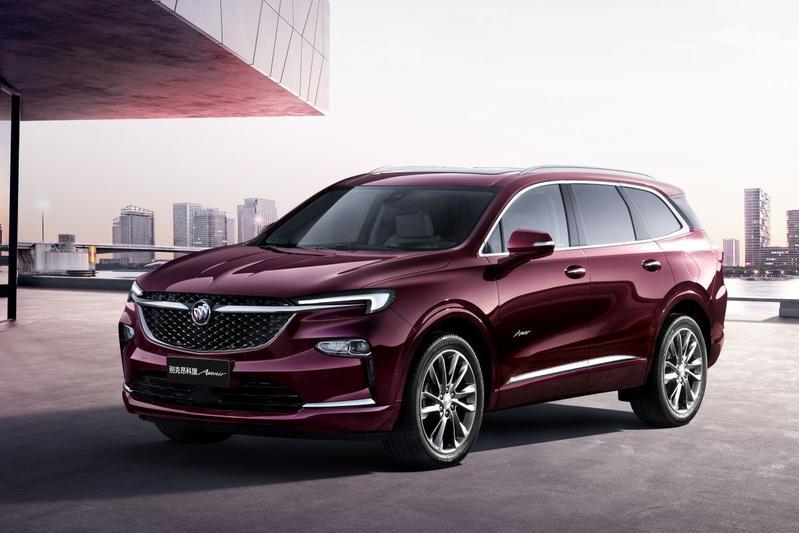 Buick Enclave en Envision China