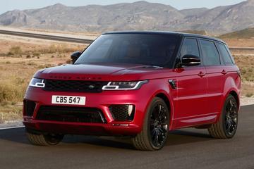 Gefacelifte Range Rover Sport in beeld