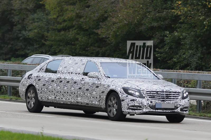Mercedes-Benz S 600 Pullman op pad