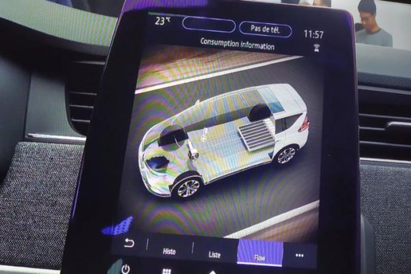 Renault Espace PHEV plug-in