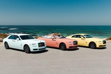 Kleurrijk oud nieuws: Rolls-Royce op de Monterey Car Week