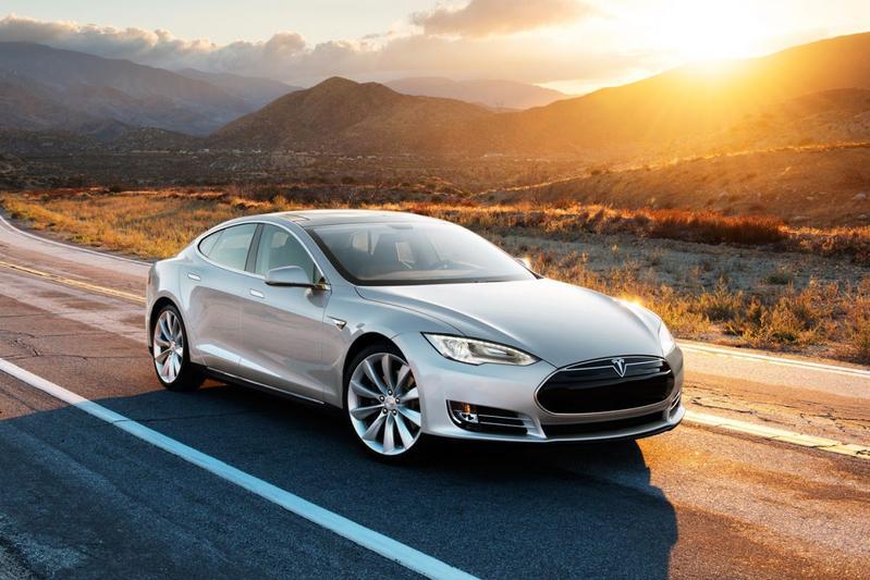Tesla Model S amerikaanse versie USA