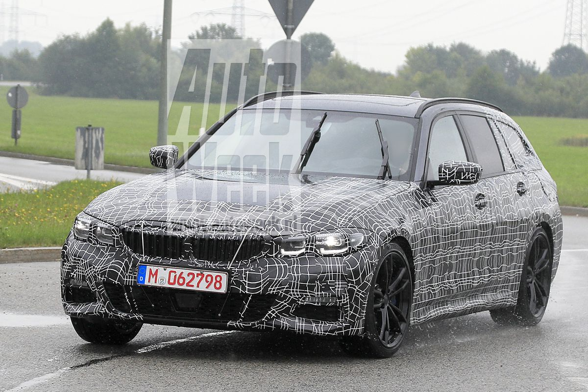 2019 Bmw G21 3 Series Touring Spied From All Angles