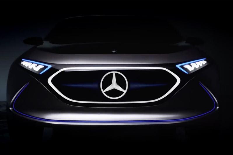 Mercedes-Benz brengt Concept EQA in beeld