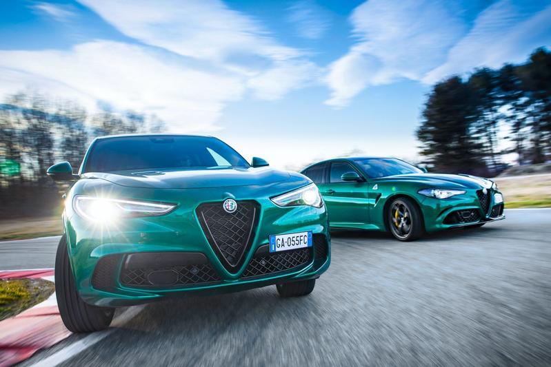 Alfa Romeo Stelvio Q en Giulia Q