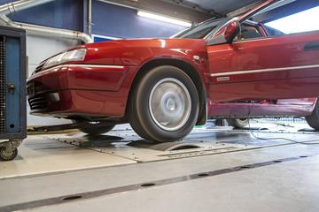 Citroën Xantia 2.0 Turbo CT Activa - Op de Rollenbank