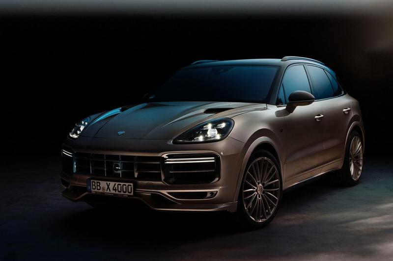 Porsche Cayenne Turbo volgens Techart