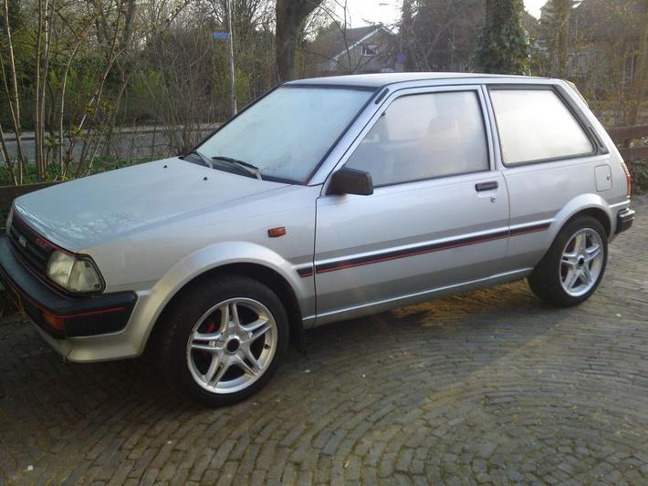 Toyota Starlet 10 Dx 1987 Review Autoweeknl