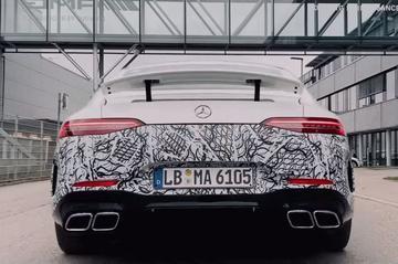 Mercedes-Benz teaset extreme AMG GT 4-Door Coupé