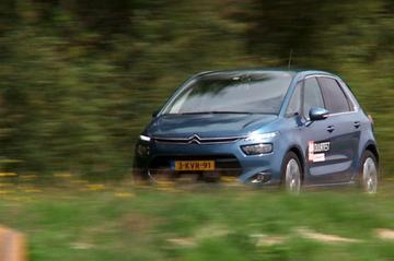 Afscheid duurtest - Citroën C4 Picasso