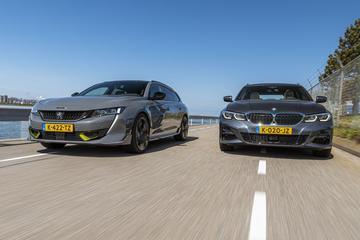 Peugeot 508 SW PSE vs. BMW 330e Touring - Dubbeltest