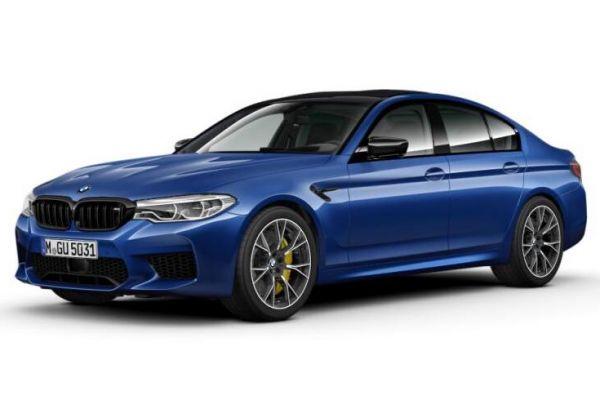 Gelekt: BMW M5 Competition
