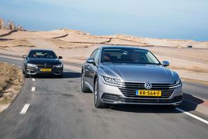 VW Arteon 1.5 TSI vs. BMW 418i Gran Coupe - dubbeltest