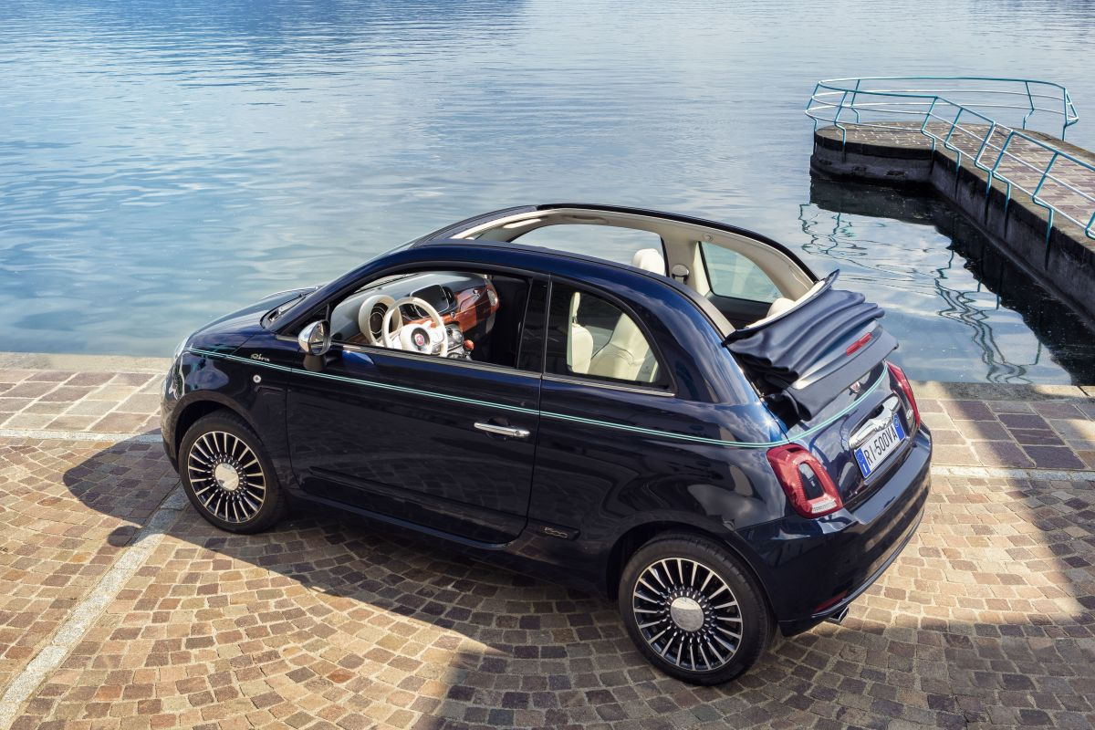 fiat 500 riva luxueuze italiaan autonieuws. Black Bedroom Furniture Sets. Home Design Ideas