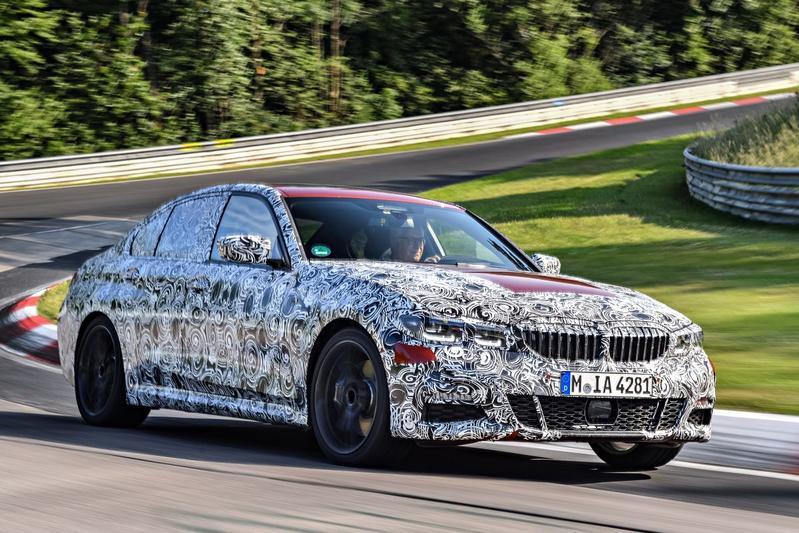 BMW laat nieuwe 3-serie zien