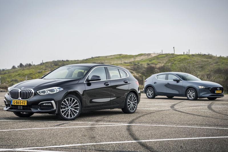 BMW 1-serie - Mazda 3 - Dubbeltest