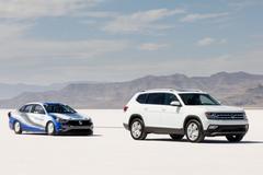 Volkswagen Jetta zet snelheidsrecord