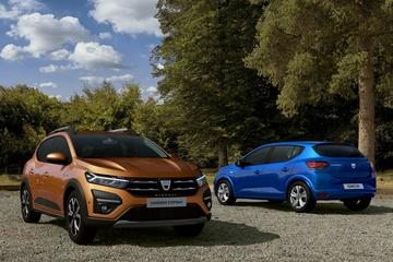 Dacia Sandero én Logan compleet in het nieuw