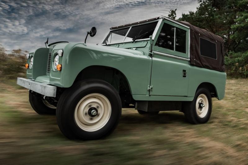 Everrati Land Rover Series IIA