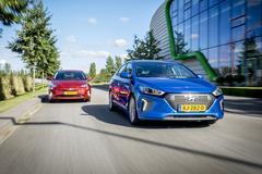 Hyundai Ioniq vs. Toyota Prius - Dubbeltest