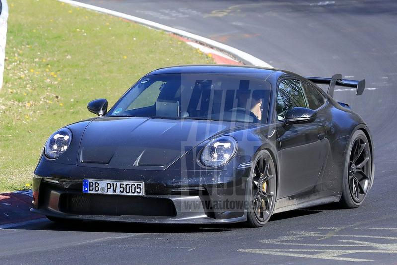 Porsche 911 GT3 spyshots
