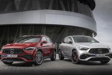 Prijskaartjes voor Mercedes-AMG GLA