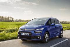 Citroën punt C4 Picasso bij