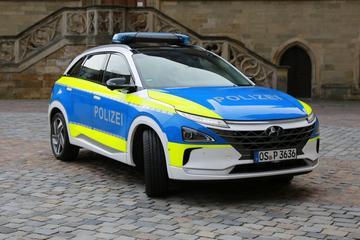 Duitse politie kiest voor Hyundai Nexo