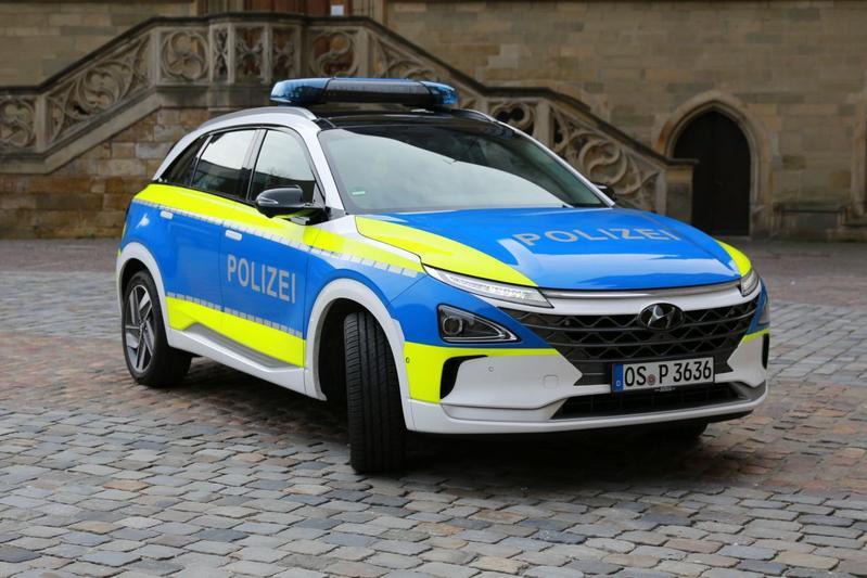 Hyundai Nexo politieauto