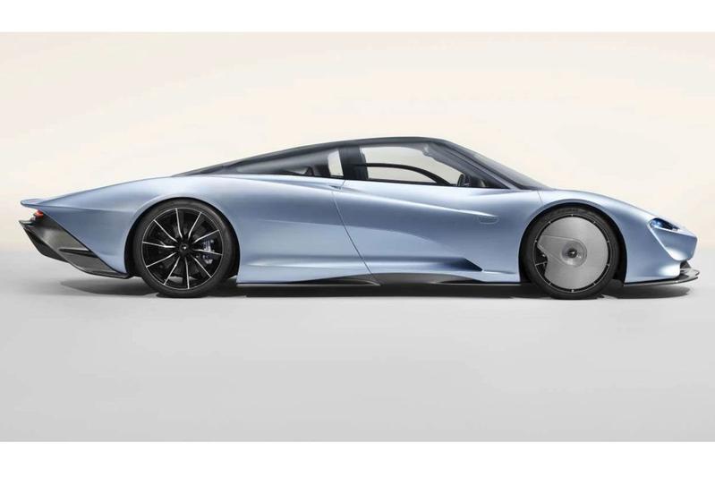 McLaren Speedtail nipt te vroeg in beeld