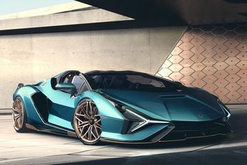 Dít is de Lamborghini Sián Roadster!