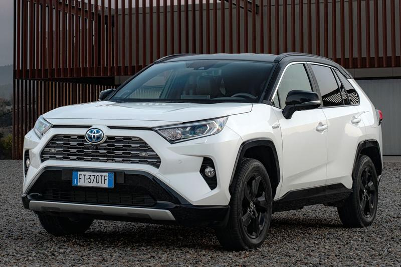 Toyota RAV4 2.5 Hybrid AWD Executive (2019)