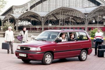 Afgestoft: Mazda MPV