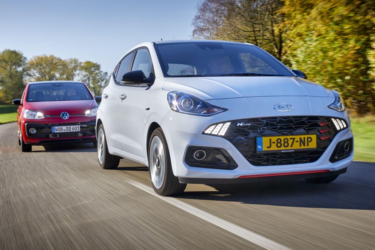 Volkswagen Up GTI vs. Hyundai i10 N-line