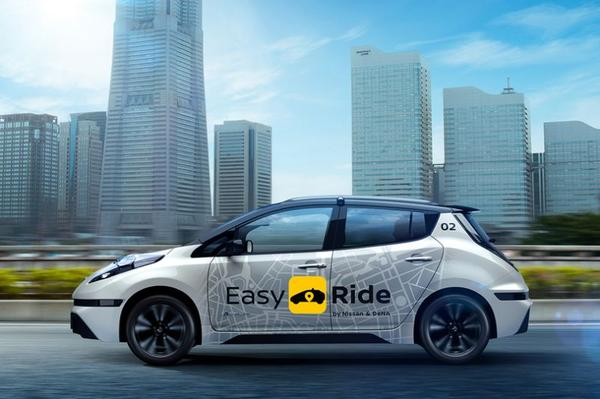 Nissan onthult mobiliteitssysteem in Japan