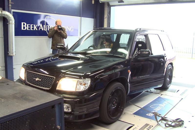 Subaru Forester STI - Op de Rollenbank
