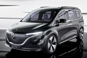 Mercedes-Benz EQT Concept: elektrische familievriend