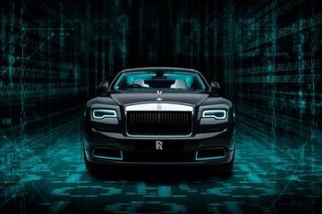 Rolls-Royce bouwt cryptische Wraith Kryptos Collection