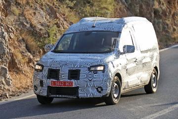 Nieuwe Dacia Dokker betrapt
