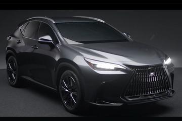 Lexus NX veel te vroeg volledig te zien